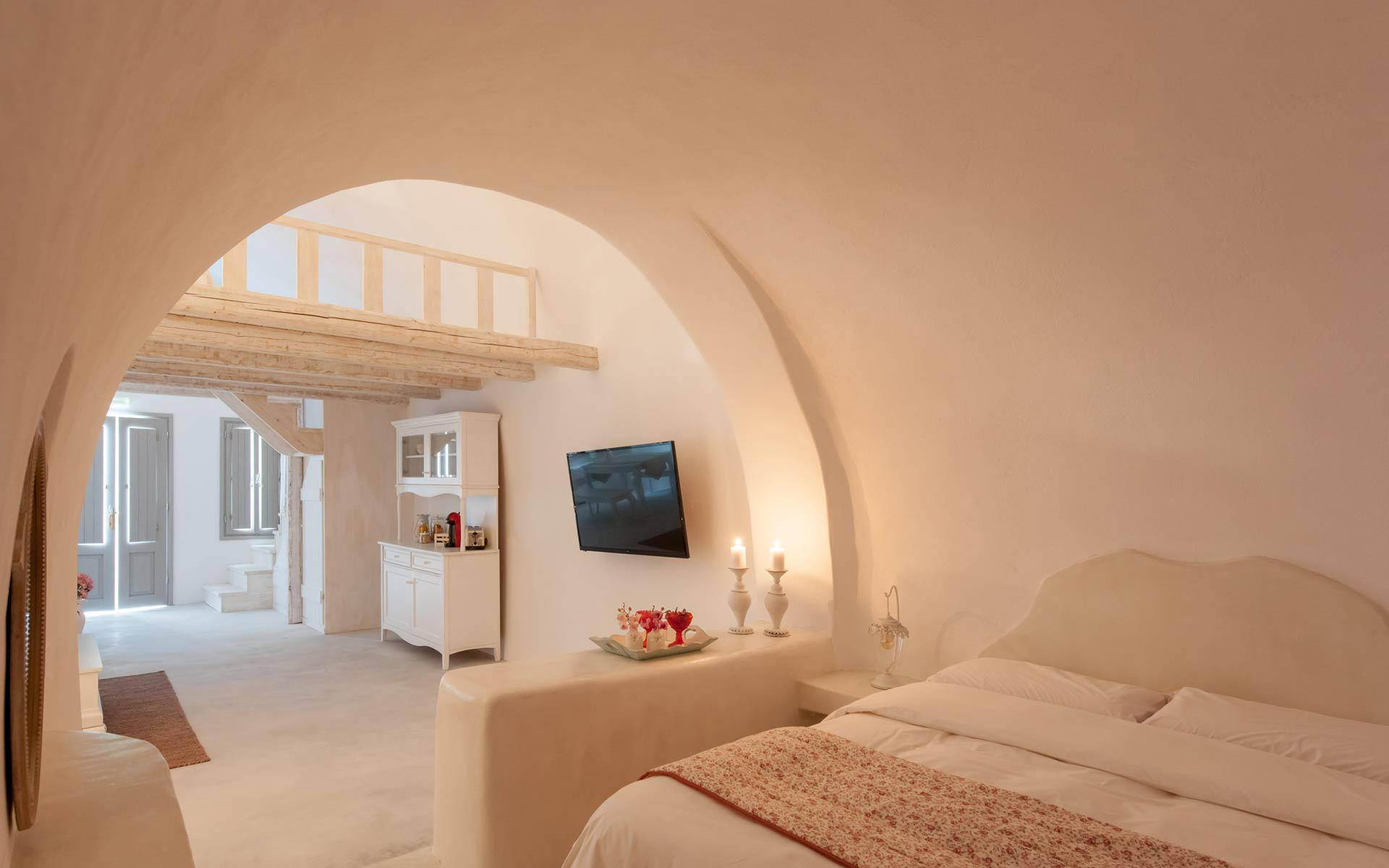 Master Cave Suite Bedroom